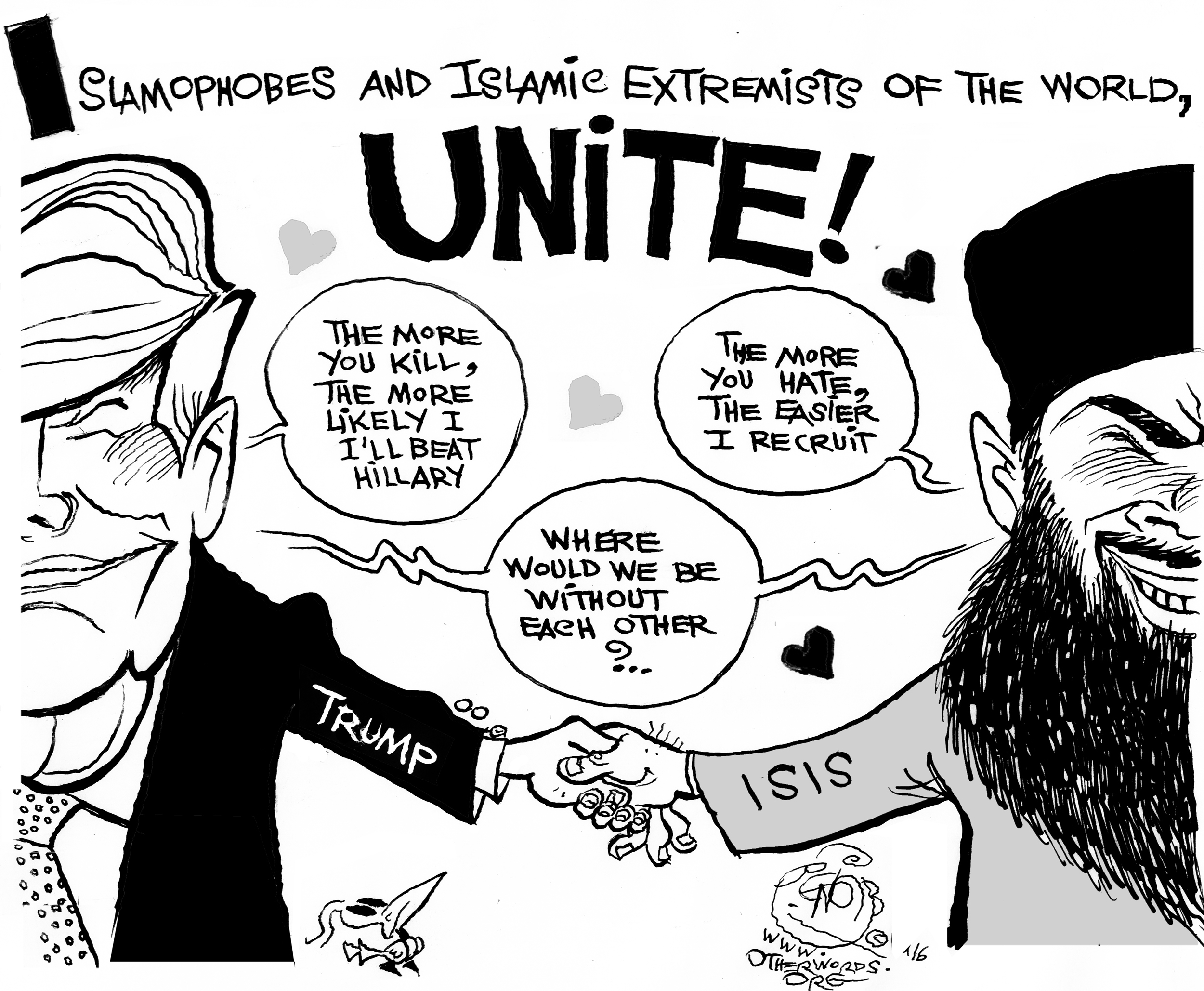 Radical Haters Unite