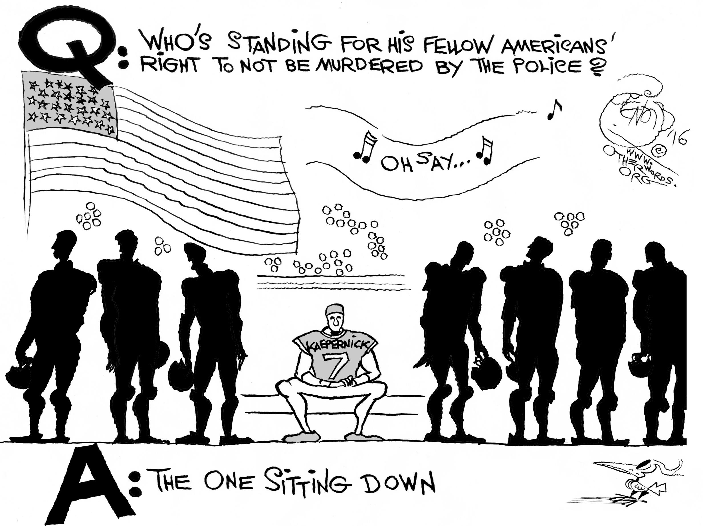 Kaepernick's Patriotism