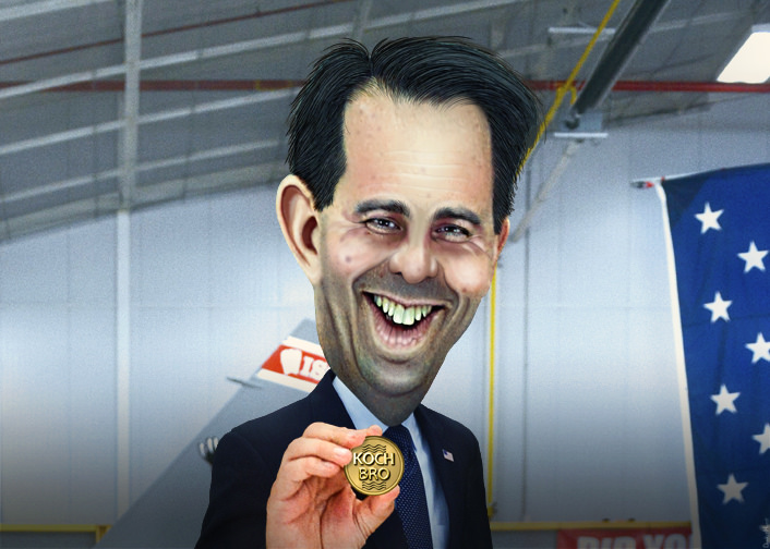 Scott Walker's Political Magic