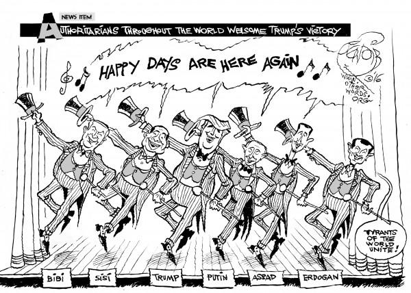 an OtherWords cartoon by Khalil Bendib