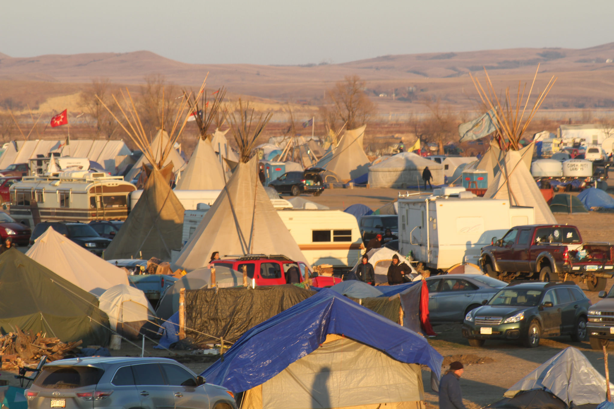 On the Ground in Standing Rock