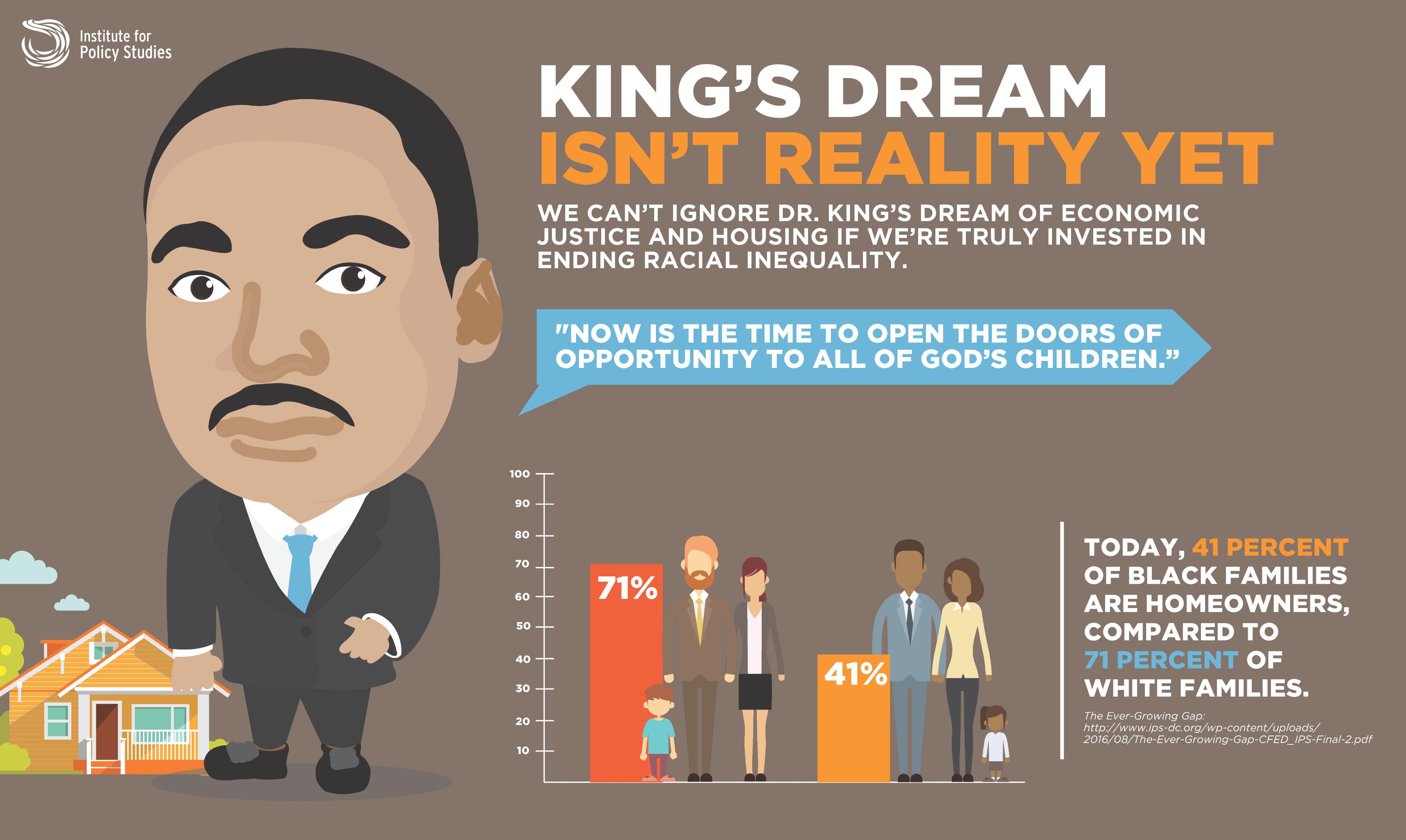 King's Dream Still Isn't Reality