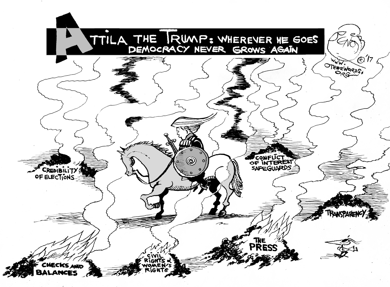 Attila the Trump
