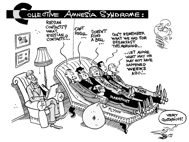 Collective Amnesia Syndrome