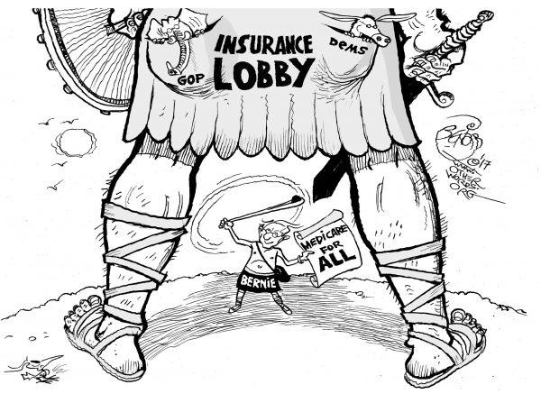 bernie-goliath-single-payer-health-care-medicare-insurance