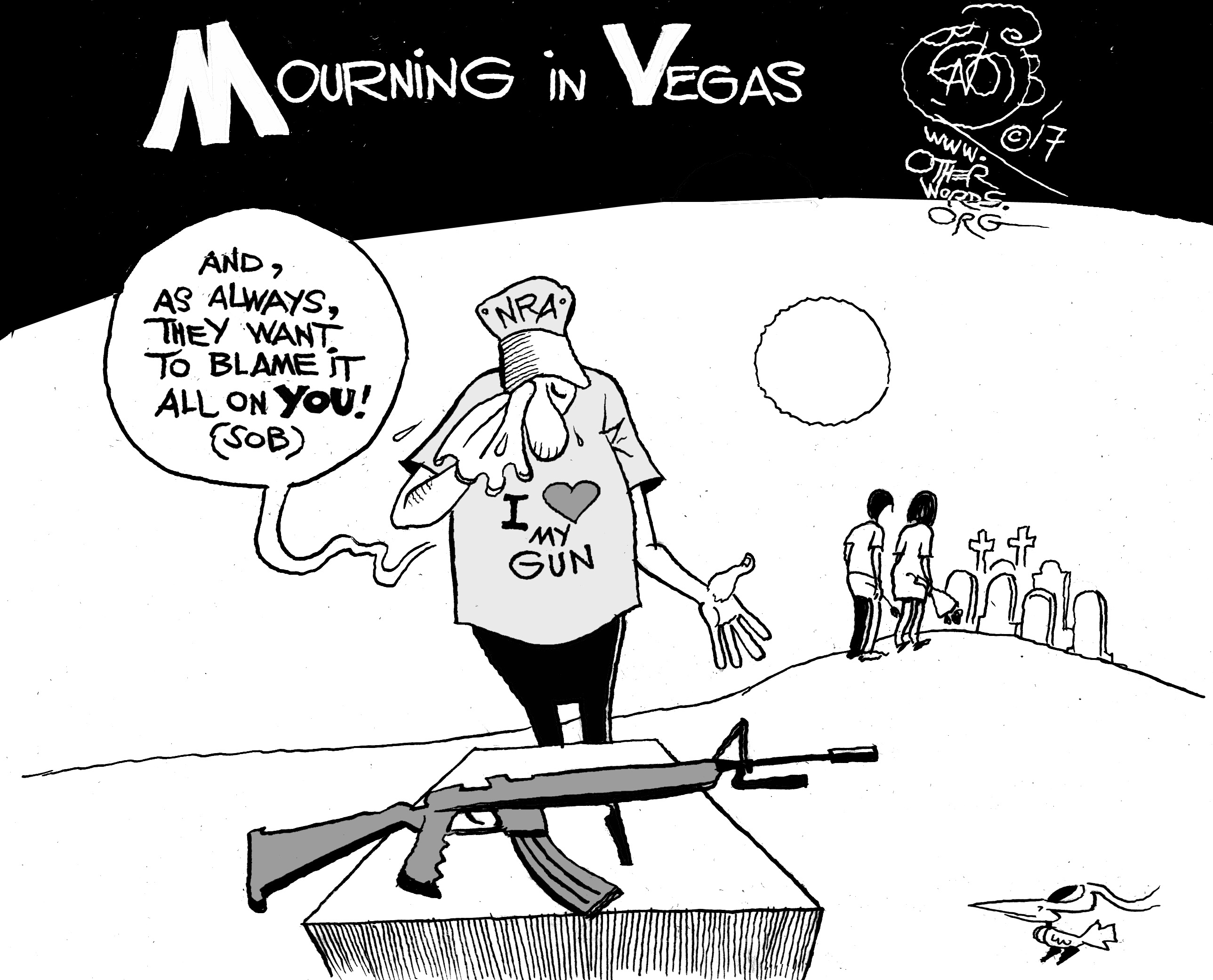 Mourning in Vegas