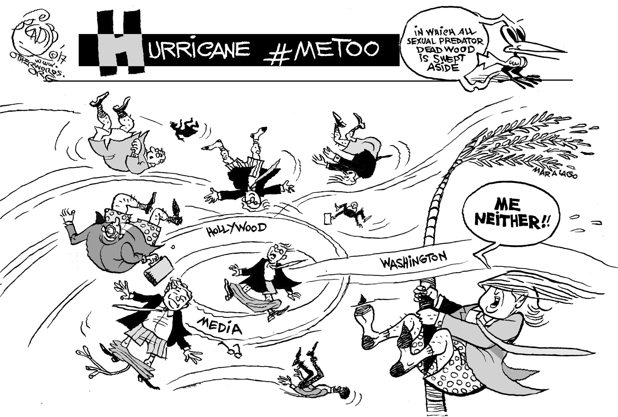 Hurricane #MeToo