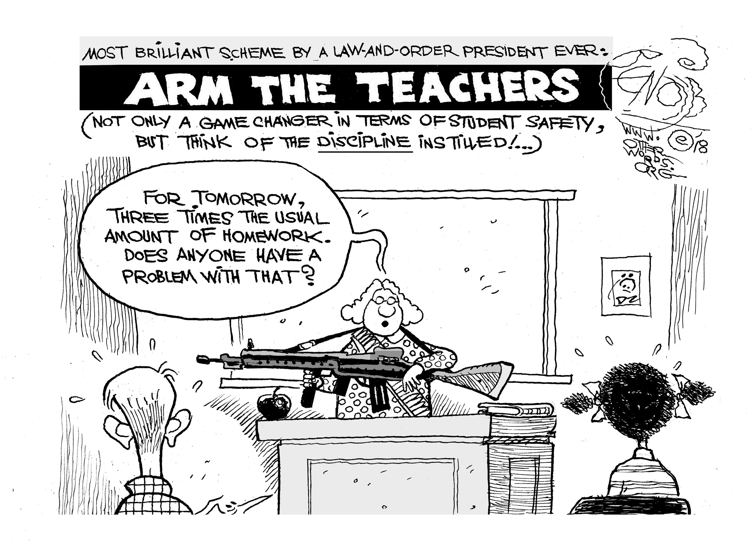 Arm the Teachers