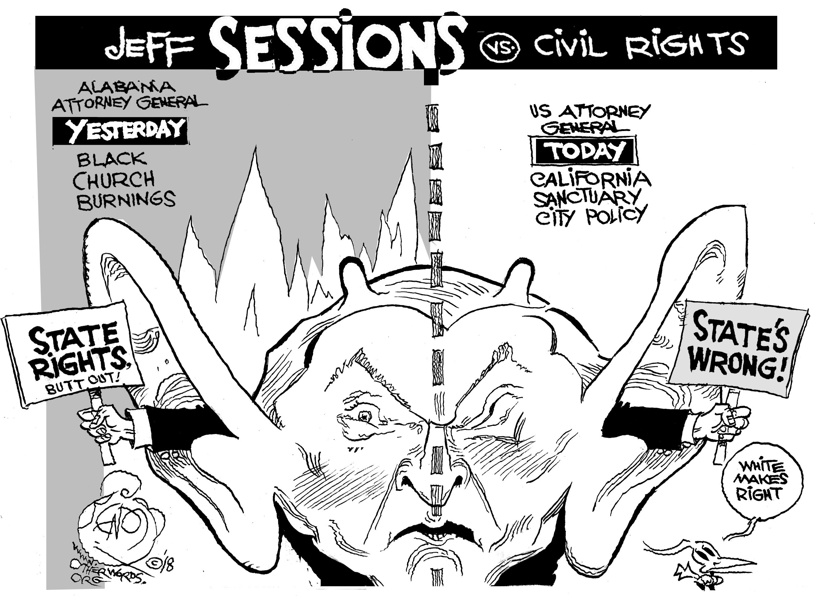 Jeff Sessions Vs. Civil Rights