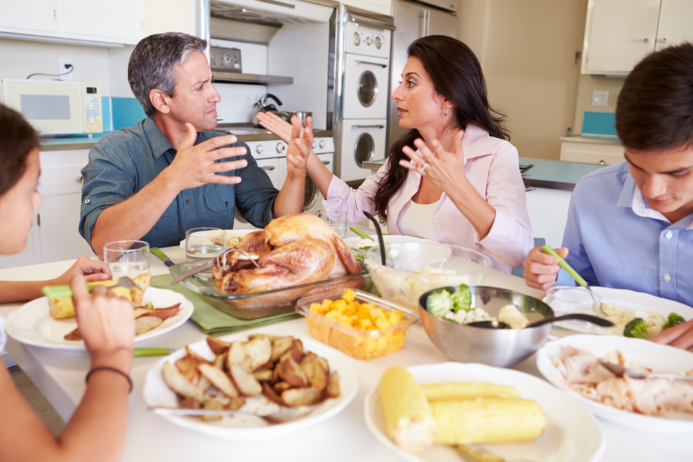 Why Holiday-Season Arguments with Relatives Are So Frustrating